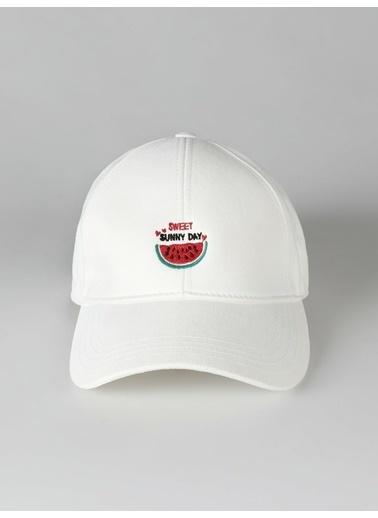 Colin's Şapka Beyaz